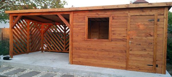 Remek kerti faházat készíttethet a céggel.