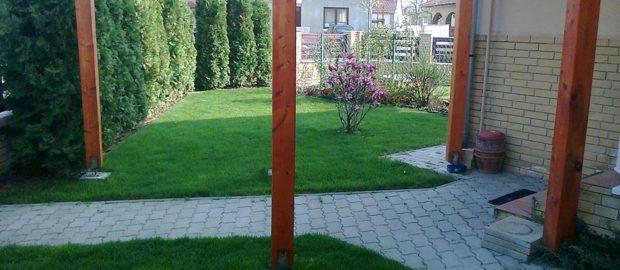 Remek áron igényelhet profi kertépítést Kaposváron.