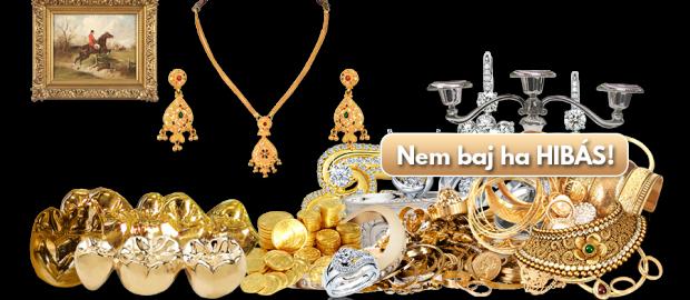 Budapesten végzett arany felvásárlás.